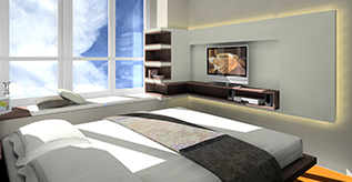 Master bedroom and Bedroom